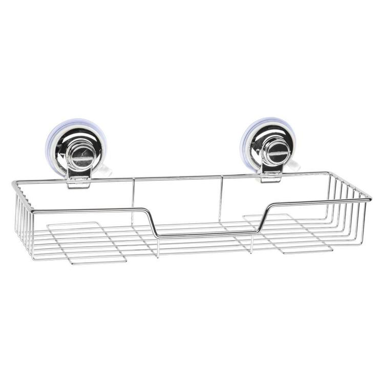 Naleon Classic Super Suction Large Wire Shelf Chrome