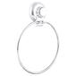 Naleon Classic Super Suction Towel Ring Chrome