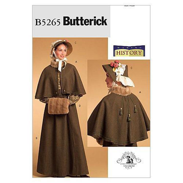 Butterick Pattern B5265 Misses' Historical Costume