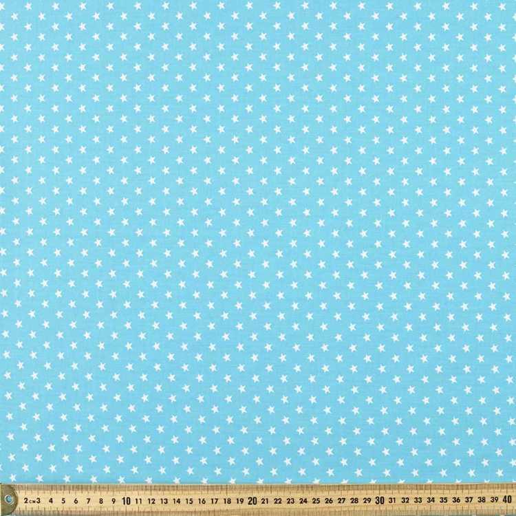 Spots & Stripes Star Printed 112 cm Cotton Fabric