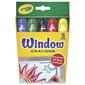 Crayola Window Crayons Multicoloured