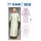 Kwik Sew K3644 Robes  X Small - X Large