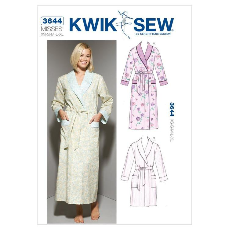 Kwik Sew Pattern K3644 Robes