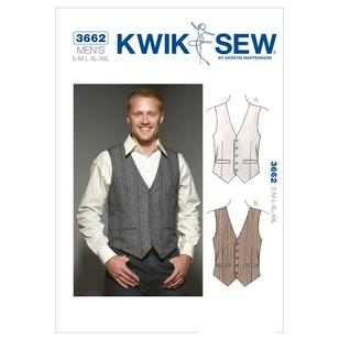 Kwik Sew Pattern K3662 Vests