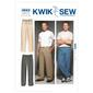 Kwik Sew K3663 Pants  Small - XX Large