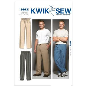 Kwik Sew Pattern K3663 Pants