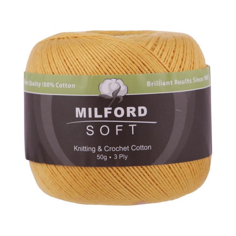 Milford Soft 3 Ply Yarn 50 g