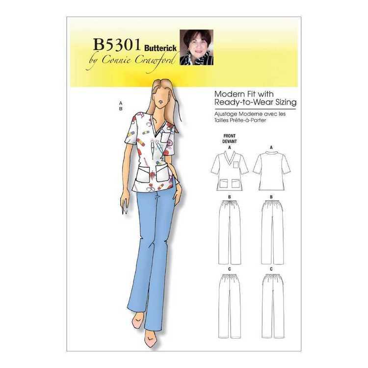 Butterick Pattern B5301 Women's Top & Pants