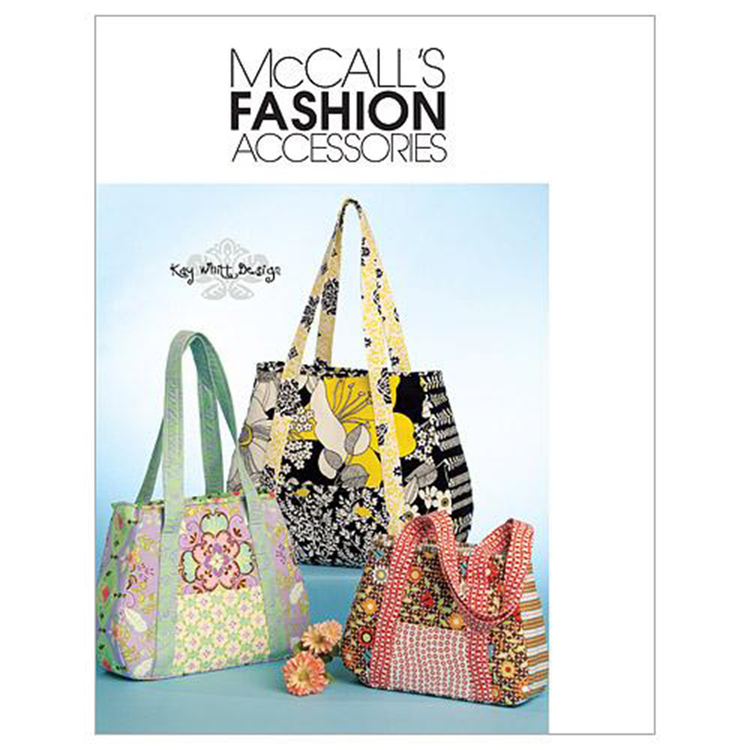 McCall's Pattern M5822 Tote Bag In 3 Sizes