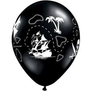 Qualatex Pirates Treasure Map Balloon