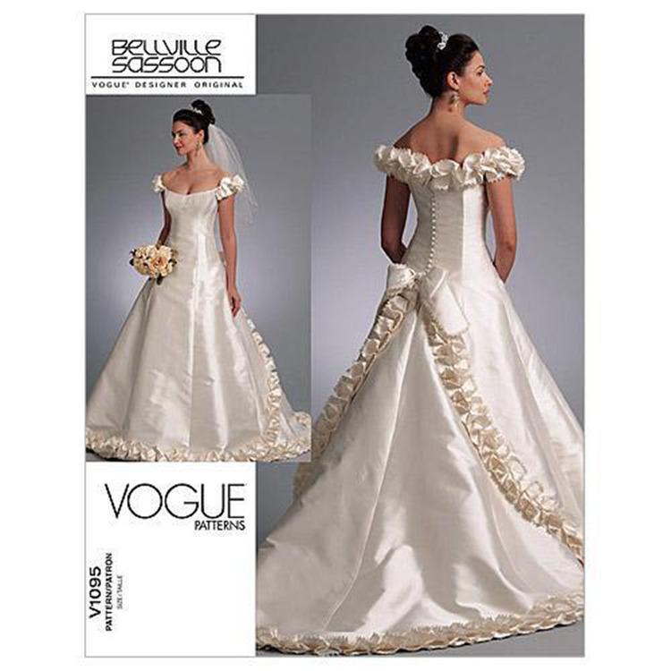 Vogue Pattern V1095 Misses' Dress