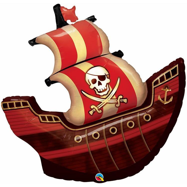 Qualatex Pirate Ship Foil Balloon