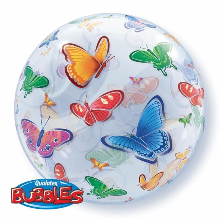 Qualatex Bubbles Butterflies Balloon
