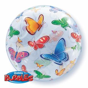 Qualatex Bubbles Butterflies Balloon