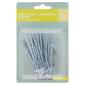 Tribeca 4 Prong Deep Pleat Duplex Tape Hooks Silver