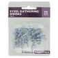 Tribeca 28 mm Gather Hooks Silver 28 mm