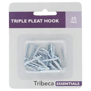 Tribeca 10 mm Triple Pleat Hooks