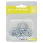 Tribeca Steel Split Rings Silver 22 mm