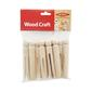 Arbee Wooden Dolly Pegs Natural