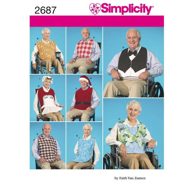 Simplicity 2687 Crafts  One Size