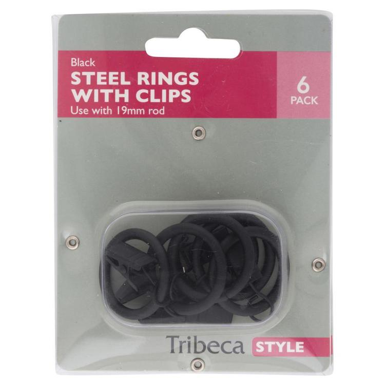 Tribeca Spring Clip With Ring