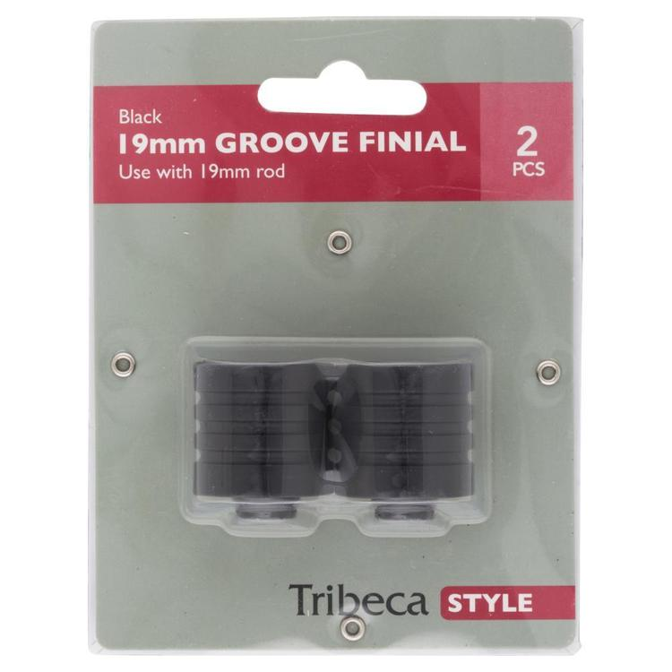 Tribeca Groove Finial