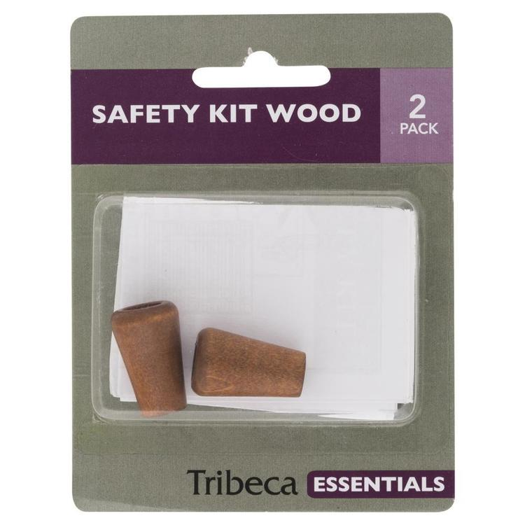 Tribeca Wood Safety Kit White