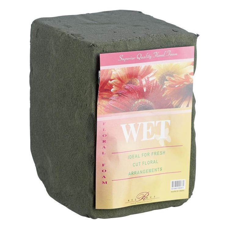 Reliance Floral Foam Wet Brick Green