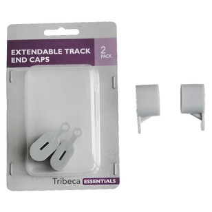 Tribeca Parnell Extendable Track End Cap 2 Pack