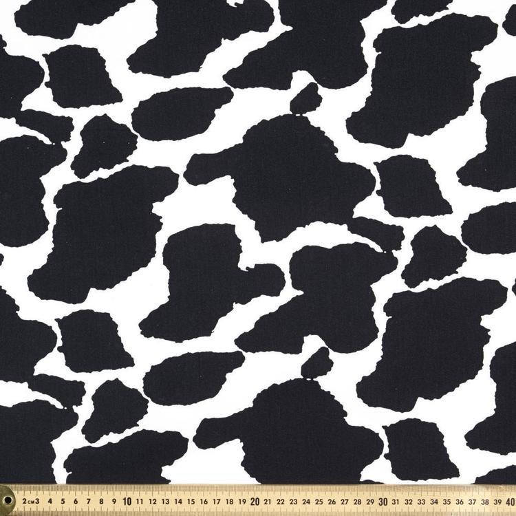 Festival Cow Printed 112 cm Drill Fabric