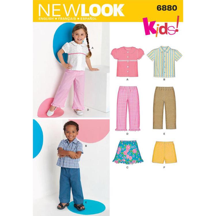 New Look Pattern 6880 Kid's Coordinates