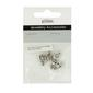 Ribtex Jewellery Accessories Heart Connectors Silver 8 x 10 mm