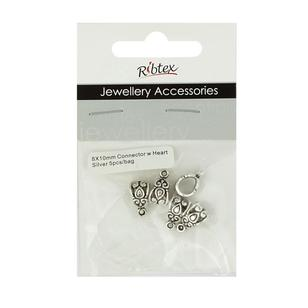 Ribtex Jewellery Accessories Heart Connectors