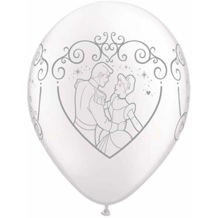 Qualatex Cinderella & Prince Charming Latex Balloon