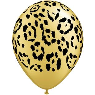 Qualatex Leopard Spots Latex Balloon