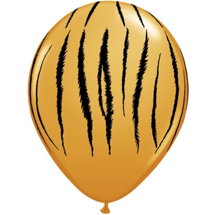 Qualatex Tiger Stripes Latex Balloon