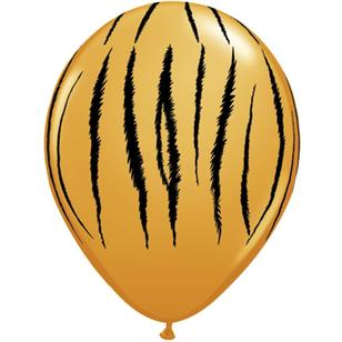 Qualatex Tiger Stripes Latex Balloon