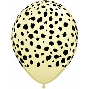 Qualatex Cheetah Spots Latex Balloon