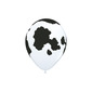 Qualatex Holstein Cow Latex Balloon White & Black