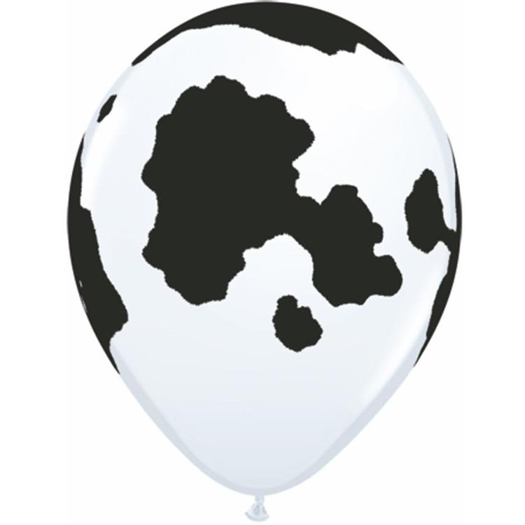 Qualatex Holstein Cow Latex Balloon