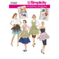 Simplicity 2592 Aprons  Small - Large