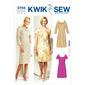 Kwik Sew K3704 Dresses  X Small - X Large