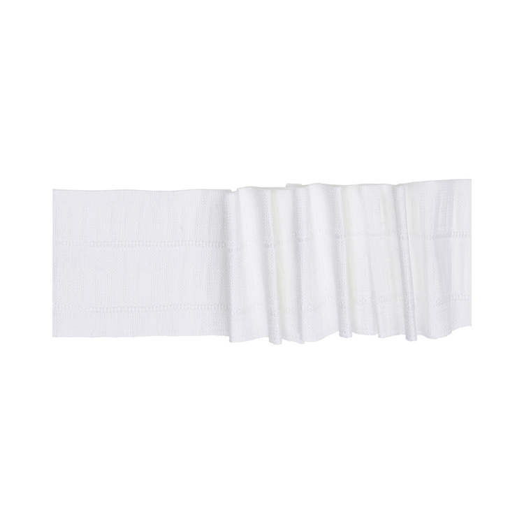 Galleria Triple Pleat Curtain Heading Tape White 88 mm