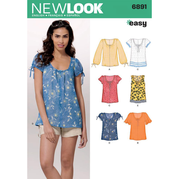 New Look Pattern 6891 Women's Top
