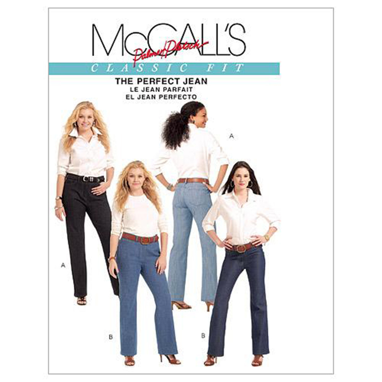 McCall's Pattern M5894 Womens' Jeans