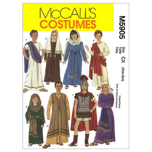 McCalls M5905 Kids' Biblical Costumes