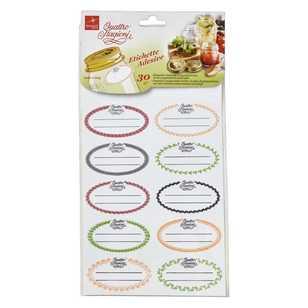 Quattro Labels 30 Pack