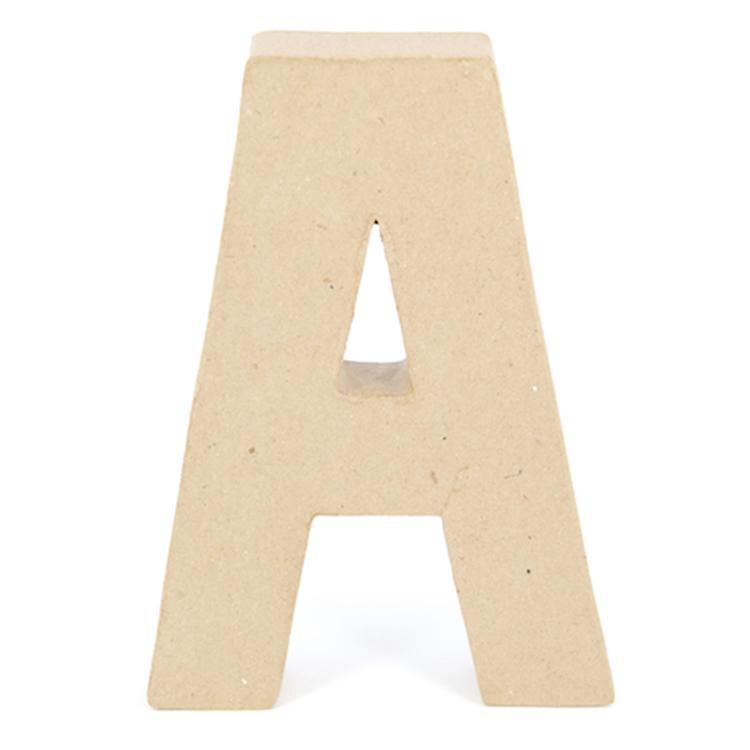 Shamrock Craft Papier Mache Letter A