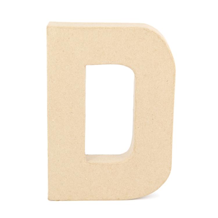 Shamrock Craft Papier Mache Letter D