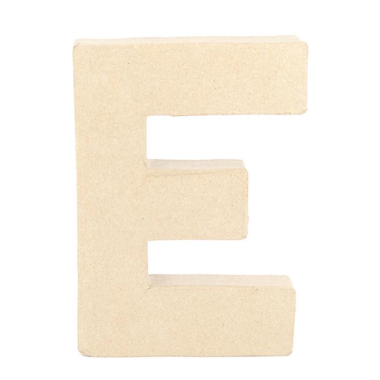 Shamrock Craft Papier Mache Letter E